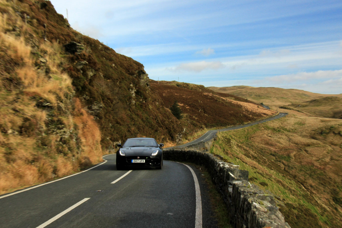 Scenic Drives UK - A44 Wales