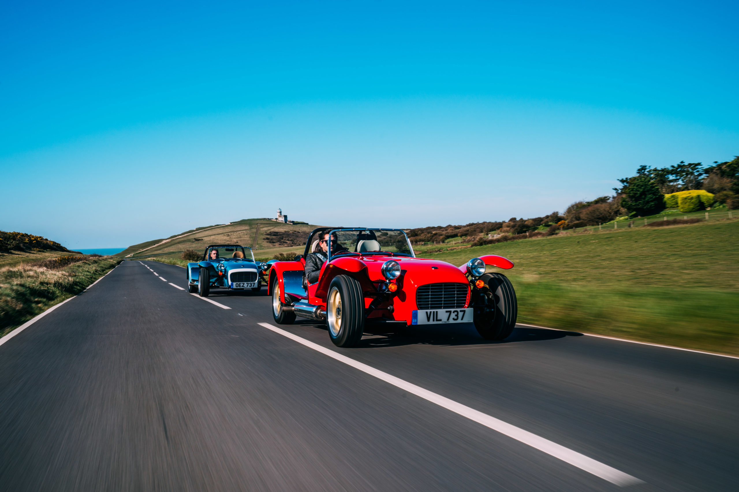 Scenic Drives UK - the South Downs in a Caterham!