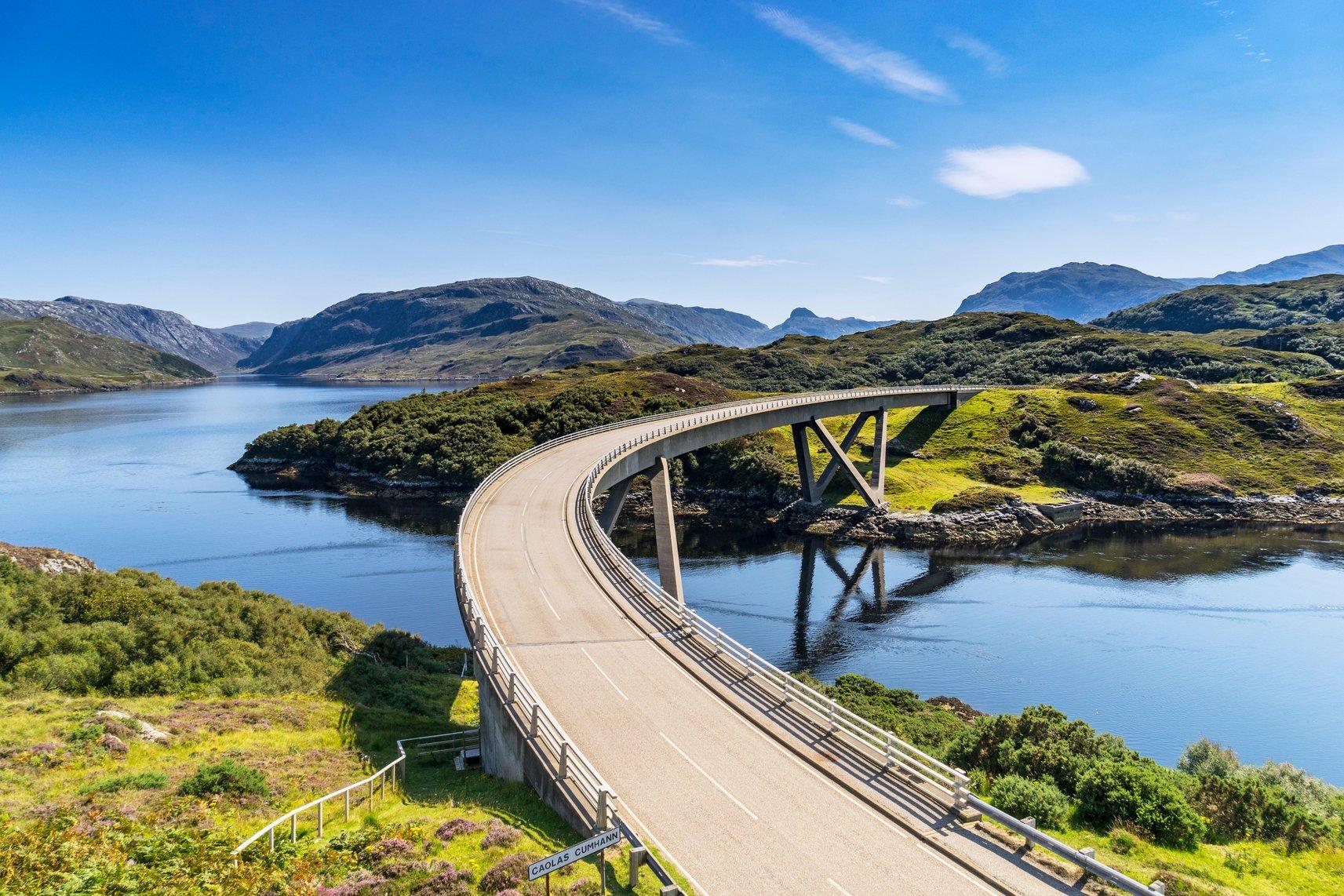 Scenic Drives UK - NC500 West Coast stretch