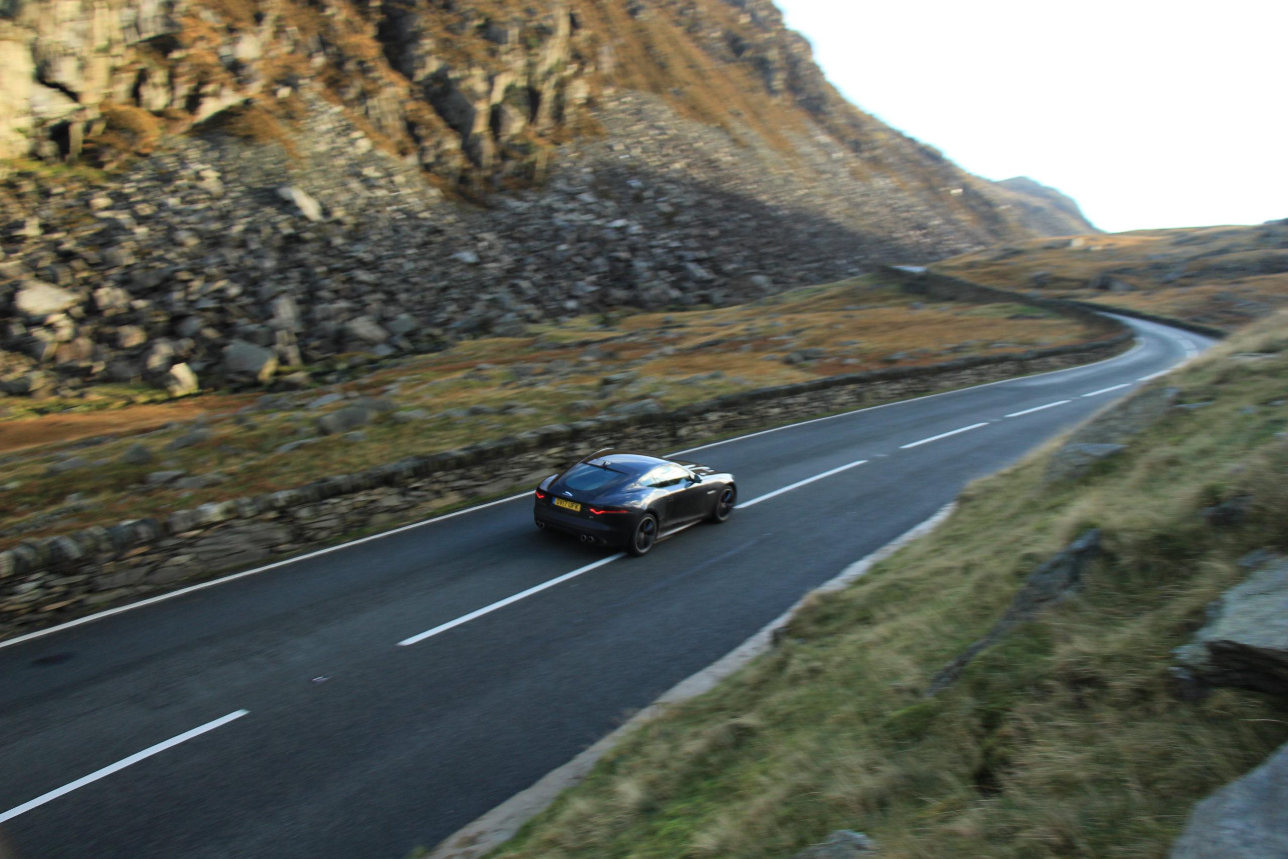 Scenic Drives UK - The Llanberis Pass