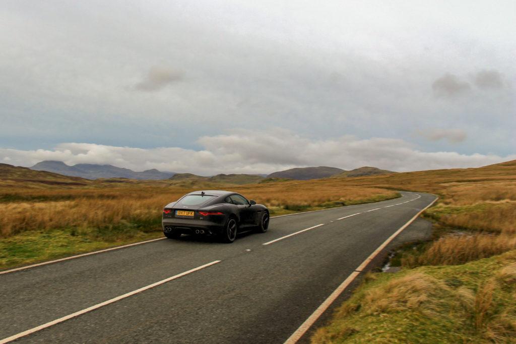 Scenic Drives UK - the Black Mountain Pass