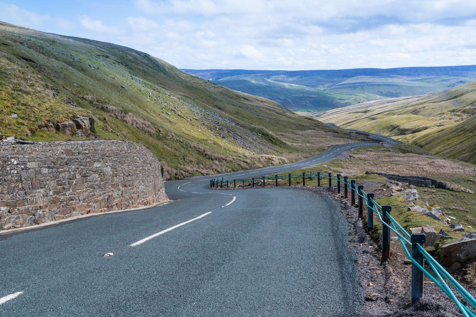 Scenic Drives UK - Buttertub Pass