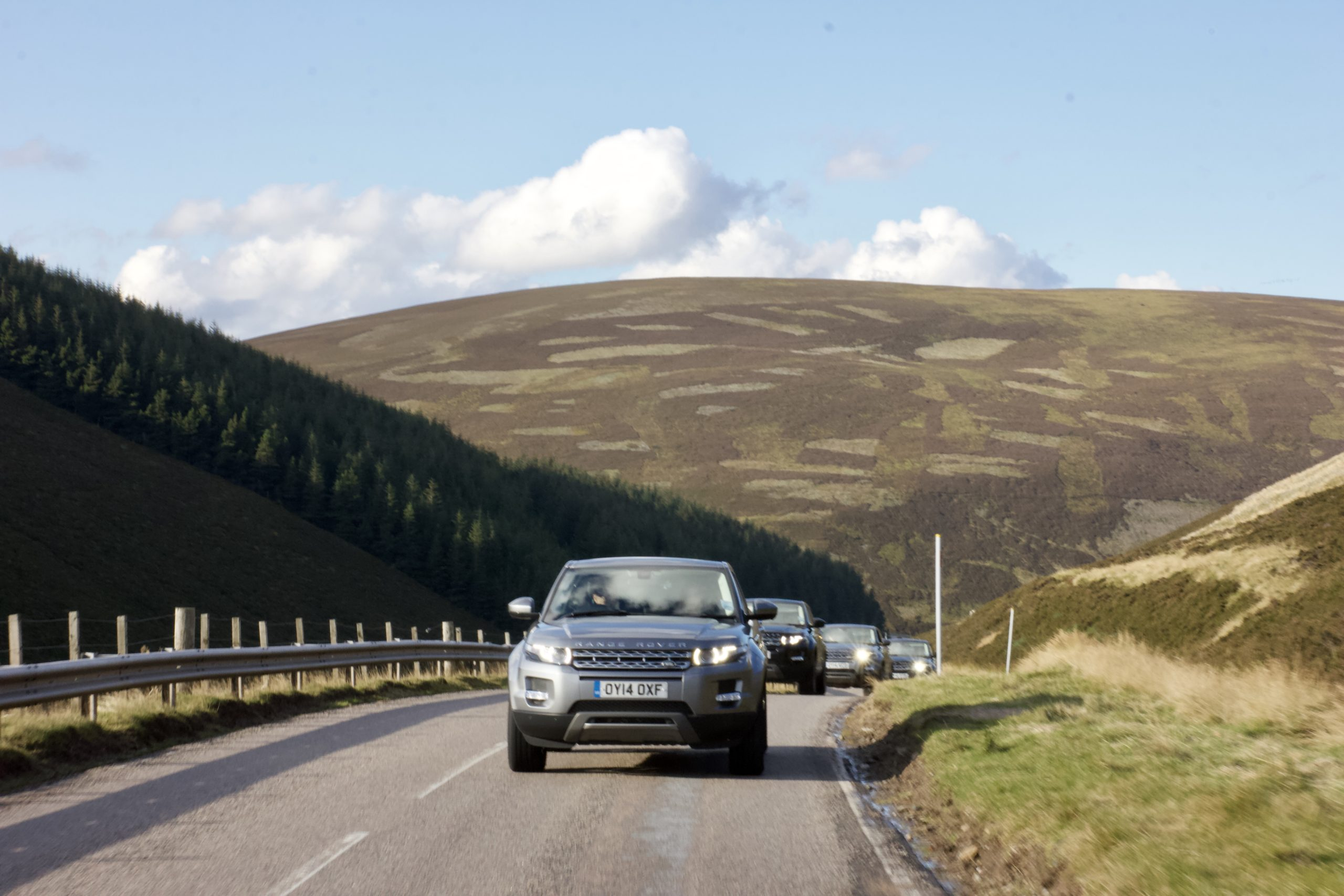 Scenic Drives UK - the old Military Road Scotland