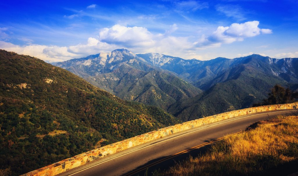 Scenic Drives USA - Generals Highway - CA