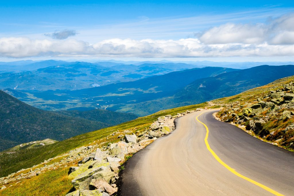 Scenic Drives US - Mount Washington Auto Road - NH