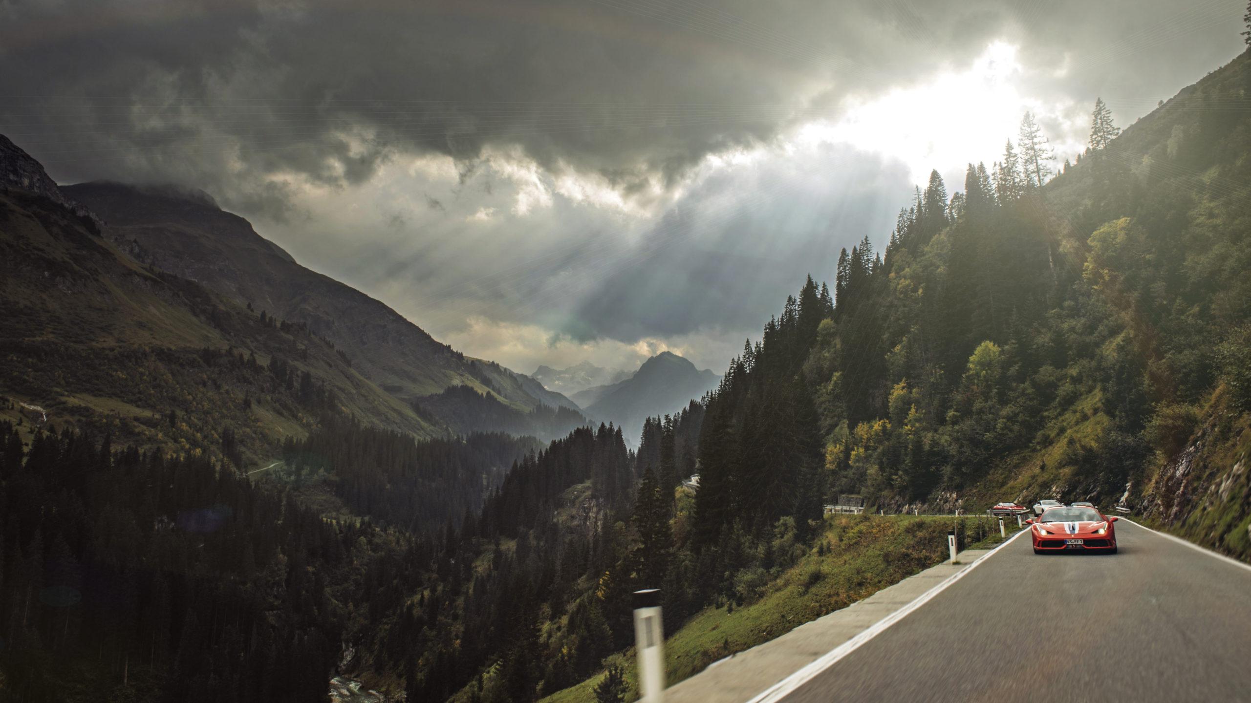 Scenic Drives - Austrian Alps Berwang Landstrasse